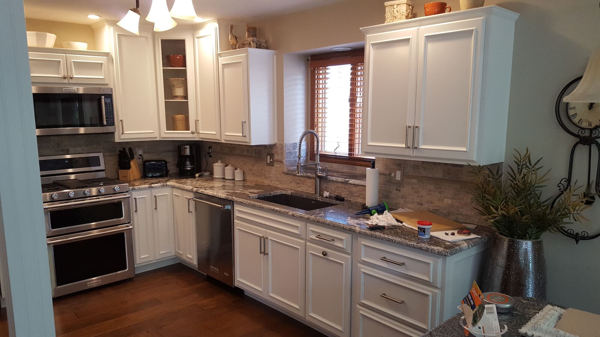 custom cabinets or pre built cabinets