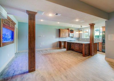 Basement kitchen cabinet 2