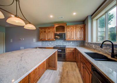 Basement kitchen cabinet