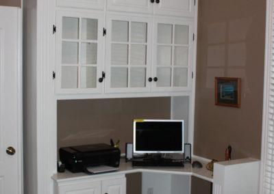 Built In Office Desk