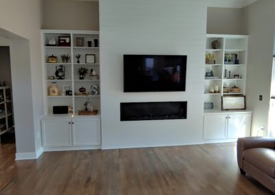Built In bookcase 2
