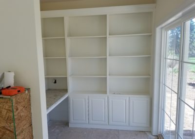 Built in Bookcase 1