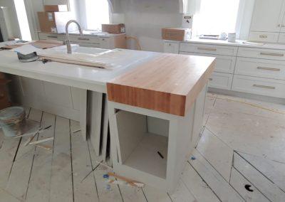Island Cutting Board Maple edge grain butcher block