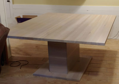 Weathered Hickory DIning Table