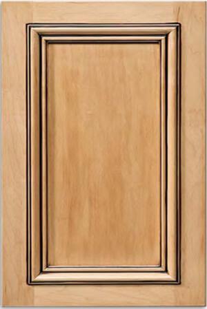 applied molding cabinet door example
