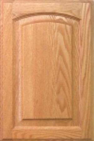 arched cabinet door example