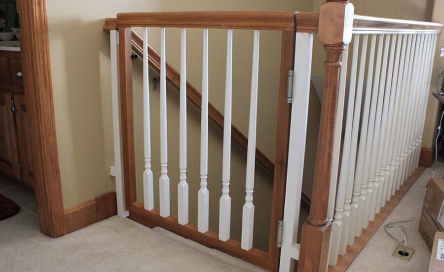 custom baby gates for stairs