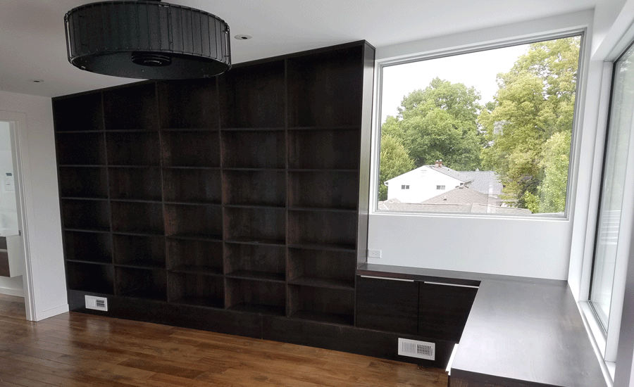 custom built cabinets and shelving kansas city