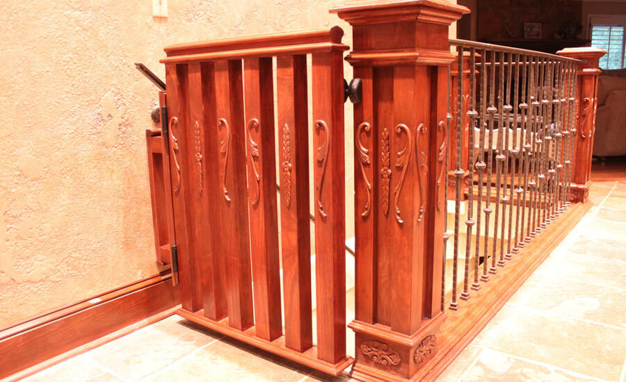 custom made stair gates
