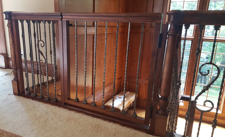 custom stair gate maker kansas city