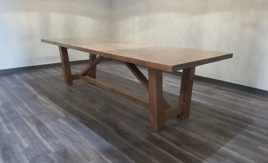 custom wood tables kansas city