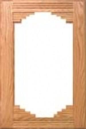 glass cabinet door example
