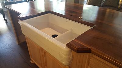 kitchen sink countertop cutout 2
