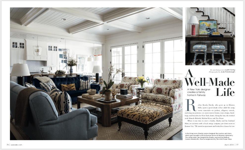 MCW Featured in Kansas City Spaces Magazine