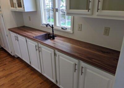 Countertop, Walnut, Face Grain (Plank Style)